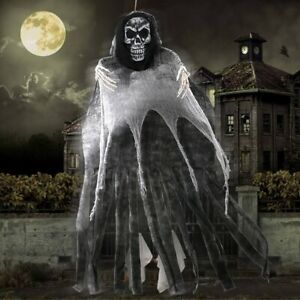 Halloween Skull Skeleton Ghost Hanging Decor Scary Party Horror Haunted Props