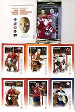 2015 Canada Post Stamp Set of 6 Goalies *NEW SEALED* Ken Dryden Martin Brodeur +