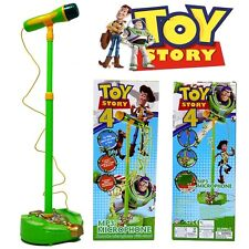 DISNEY TOY STORY ( WODDY JESSIE ) EDUCATION MUSICAL MICROPHONE MUSIC SOUND LIGHT