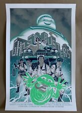 Ghostbusters Screen Print Movie Poster Not Mondo Francis Manapul Only 45 Made!
