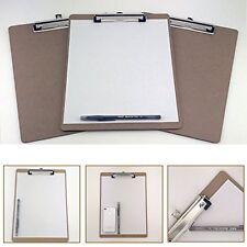 6pcs Letter Size Clipboard Document Holder Desk Office Supplies Organizer   LOT