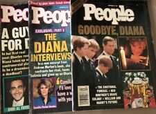 1997 People Magazines About Princess Diana Set Of 3