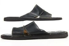 Tommy Bahama Black Leather Vero Beach Sandals Men's Size 13