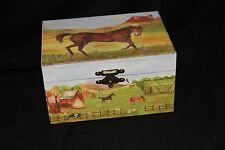 Horse Music Jewerly / Trinket  Box Plays