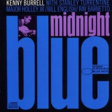 Kenny Burrell Midnight blue (Jan. 7th, 1963; 9 tracks, with Stanley Turre.. [CD]
