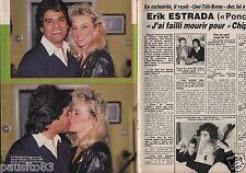 Coupure de presse Clipping 1987 Erik Estrada  (4 pages)
