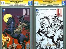 VARIANT SET! CGC SS 9.8 SIGNED Aaron Lopresti Art Batman DKIII Dark Knight #1