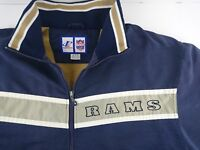 Vintage Logo Athletic Game Day Large L Saint Louis STL Rams NFL Football Coat