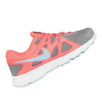 NIKE WOMENS Shoes Revolution 2 MSL - Grey, Orange & White - 554901-061