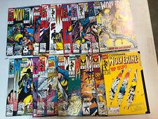 Wolverine (1992) #50-99, Annuals '95,'96,'97 (VF/NM)Complete Sequential Run Set