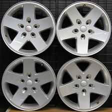 "NEW Jeep Wrangler Sport 17"" Factory OEM Wheels Rims 2007-17 9074 Free Shipping!"