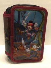 Pencil Case Mickey Mouse Pirates of the Caribbean Disney Parks Zippered Case
