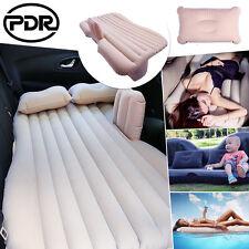US Inflatable Cushion Seat Car Air Mattress Flocking Camping Travel Bed Sofa Bed