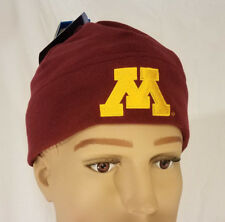 19e2d714386 Columbia Mens Womens University of Minnesota Beanie Hat S m College Winter  Cap