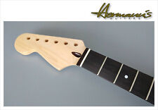 Lefty Stratocaster Canadian Maple Neck, Rosewood Fretboard mit 22 Frets, Nature