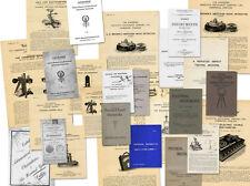 Alte Kataloge, Cambridge Scientific Instrument, Bausch, Baird, Bardou usw.
