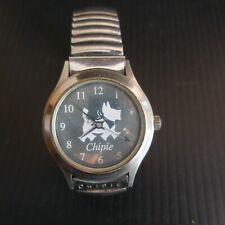Montre bracelet CHIPIE métal quartz STAINLESS STEEL horlogerie France N5773