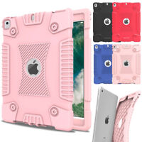 Hybrid Rubber Shockproof Protective Case For iPad 9.7 2018 6th Gen A1893 A1954