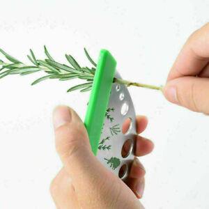 Peeler Vegetable Leaf Remover Home Peeling Herb Stripper Cutter Stainless Steel