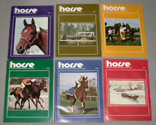 (6) 1983 Canadian Horse' Horse Racing Magazines