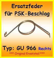ORIGINAL GU966 Ersatzfeder für PSK 966 Schiebetür DIN R Feder DIN Rechts G.U.