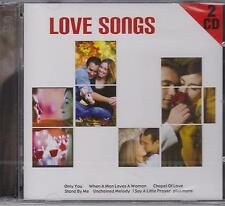 LOVE SONGS - VARIOUS ARTISTS on 2 CD's  - NEW -