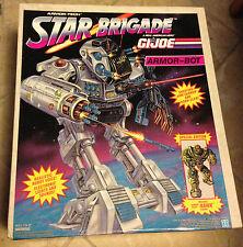 GI Joe Star Brigade Armor-Bot with Armor-Tech Hawk Figure MISB 1993 Sealed New
