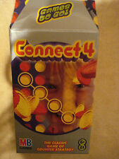 NEW & SEALED  CONNECT 4 BY HASBRO MB Games 'Games To Go' TRAVEL SIZE