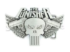 Punisher w/ Guns Metal Belt Buckle