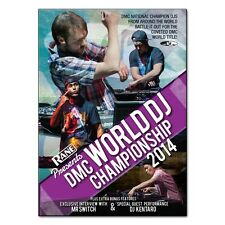 DMC World DJ Championship Final 2014 DVD - Plus Extras