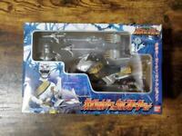 Power Rangers Wild Force Gaoranger Gao Silver & Wolf Roader Vehicle BANDAI Mint