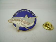 Pin's Pins Pin Badge PARC OCEANIQUE COUSTEAU DAUPHIN / DOLPHIN TOP