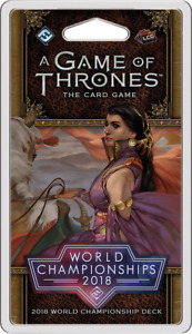 A Game of Thrones LCG 2e World Championships 2018 - NEW Board Game - AUS Stock
