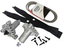 """Lawn Mower Rebuild Kit 38"""" includes Belt, Spindle, Blades Craftsman Husqvarna"""