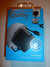 Quirky Powercurl cell phone charger cord wrap cable management mobile NEW!