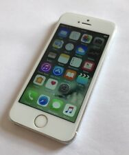 Apple iPhone 5s - 16GB - Silver (Unlocked) Smartphone Very Good Condition
