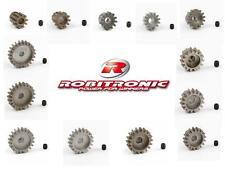 Stahl Motor Ritzel 1/8 BL Motoren - Modul 1 von Robitronic für 5 mm Welle