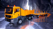 Herpa H0 307918 Man TGS M Construction Dump Truck 3-achs With Goldhofer TU 3