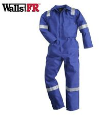 Mens WALLS FR Flame Retardant Overalls Welding Welder Boilers Reflective Hi Viz