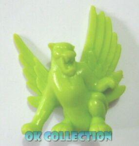MONSTER IN MY POCKET : Winged Panther Pantera Ala n.40 olive green verde oliva