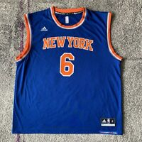 Adidas NBA New York Knicks Kristaps Porzingis Basketball Jersey Mens XL