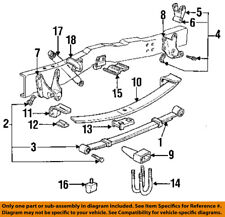 FORD OEM 92-96 F-150 Rear Suspension-Spring Assembly Bracket EOTZ5775F
