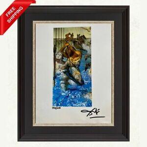 Salvador Dali - Tuna Fishing, Original Hand Signed Print with COA