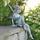 statue de fée jardin décoration figurine enchanté