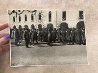 FOTO FOTOGRAFIA CUNEO CASERMA ALPINI CESARE BATTISTI 1925