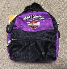 """Harley Davidson 6"""" Mini Me purple """"backpack"""" NWT"""