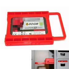 """1x 2,5 """"a 3,5"""" SSD HDD Adaptador de Montaje Bandeja Soporte Disco Duro Bay Caddy"""