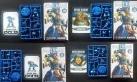 Games Workshop Warhammer 40K Space Marine Heroes x4 Gaiun Titus Castor Garus