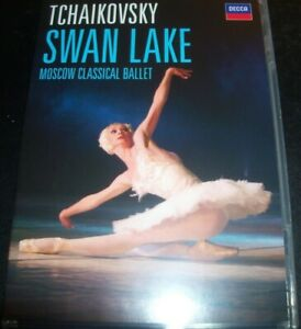 SWAN LAKE Tchaikovsky Moscow Classical Ballet (All Region) DVD - Like New