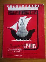 France film international N°5 1955 Mademoiselle de paris - série noire